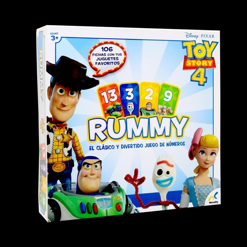 RUMMY TOY STORY 4