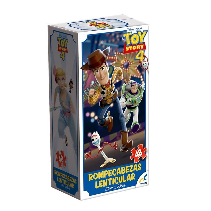 ROMPE CABEZAS LENTICULAR TORRE TOY STORY 4