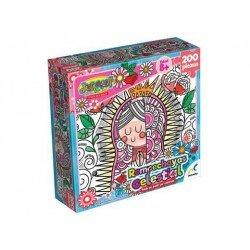 Rompecabezas Para Colorear Mandalas Distroller 200 Piezas