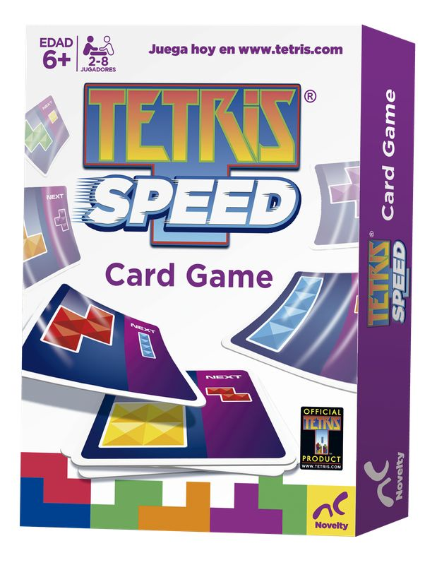 Tetris Speed Card Game Novelty