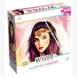 Rompecabezas Coleccionable 1000 Piezas Wonder Woman 84