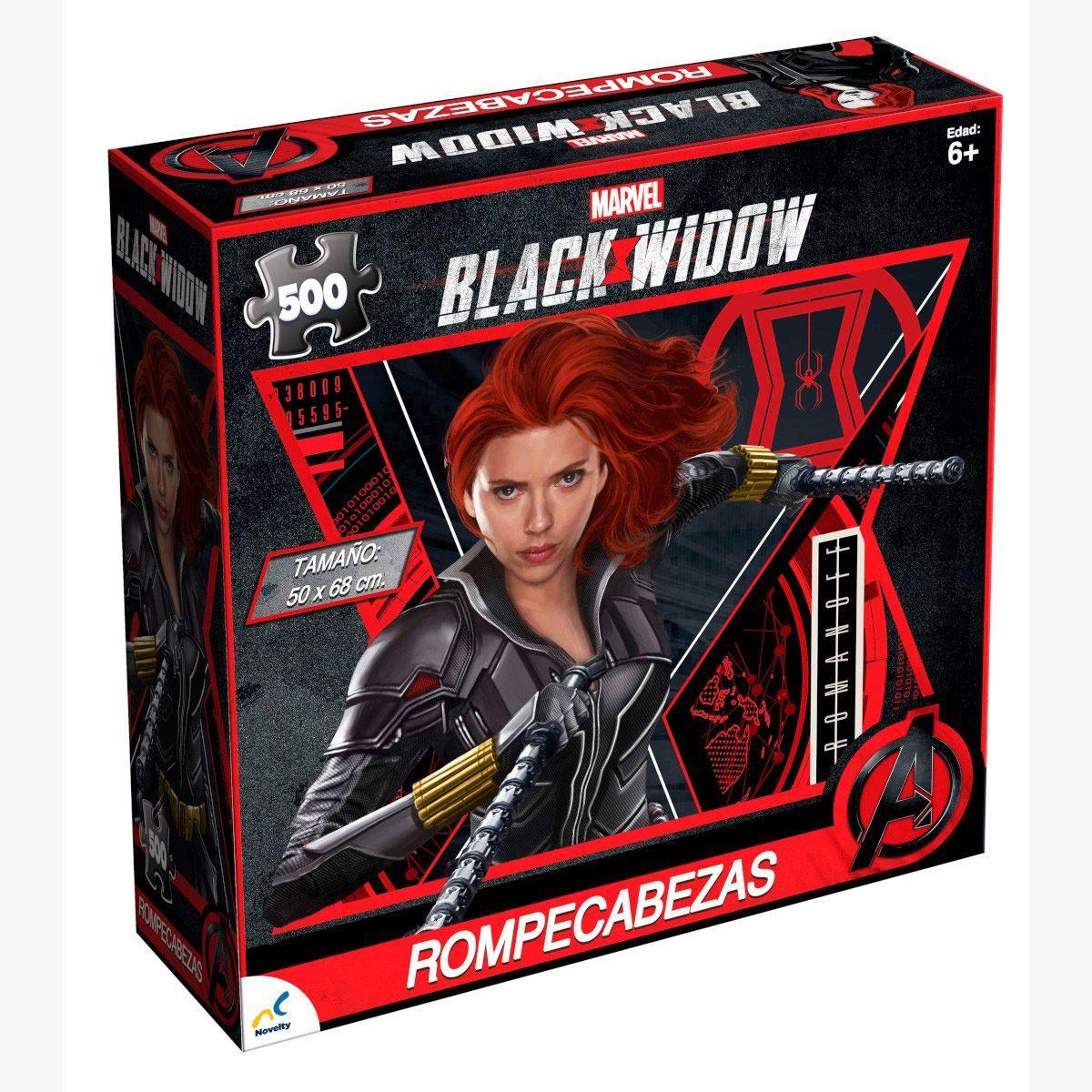 Rompecabezas Coleccionable Marvel Black Widow-500 Piezas