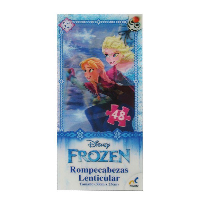 Rompecabezas Torre Lenticular Nina Frozen Novelty