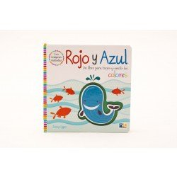 Rojo & azul un libro de colores de tocar y sentir