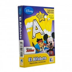 FLASH CARD ALFABETO DISNEY JUNIOR