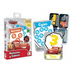FLASH CARDS NUMEROS Y COLORES CARS 3