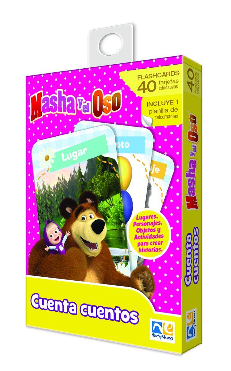 FLASH CARDS CUENTA CUENTOS MASHA Y EL OSO