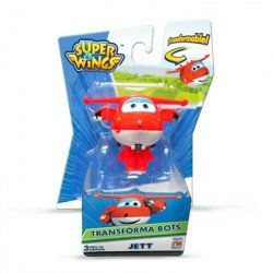 Super Wings Figura Basica Jett