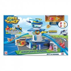 Set Super Wings Aeropuerto Mundial Fotorama