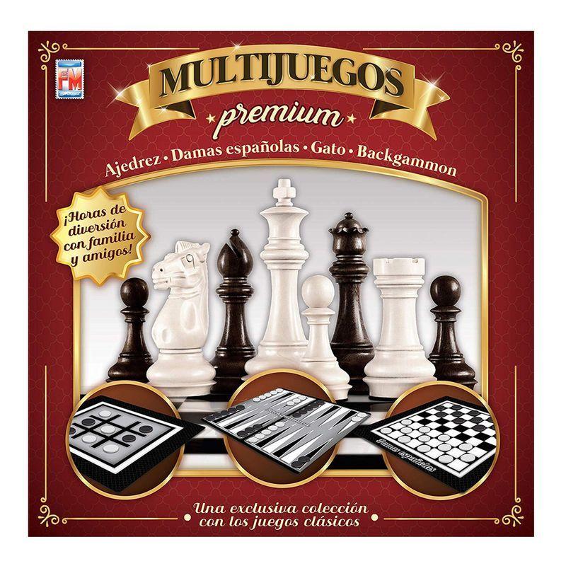 Juego de Mesa Multijuegos Premium Fotorama