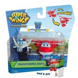 Transforma Bots Super Wings 2 pack Fotorama