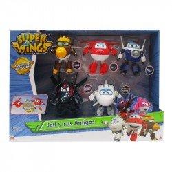 Set de Figuras Super Wings 5 Pack