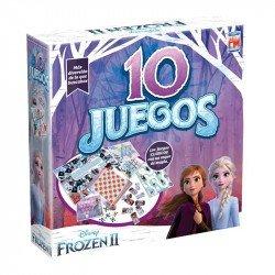 Juego de Mesa 10 Juegos en 1 Disney Frozen 2 Fotorama