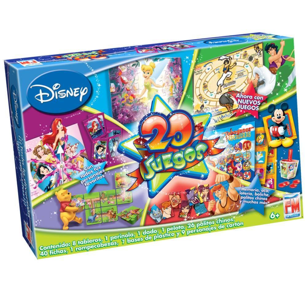 20 Juegos En Uno Disney Juguetron