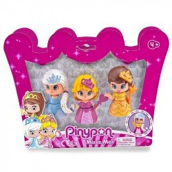 Pinypon 3 Princesas pack