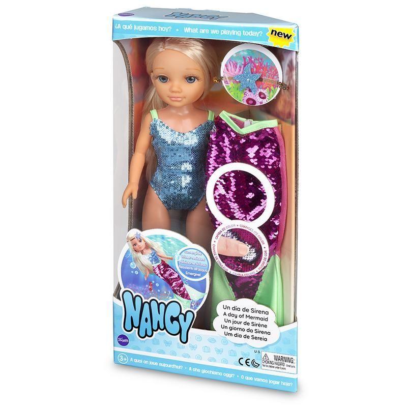 Nancy, un día de sirena