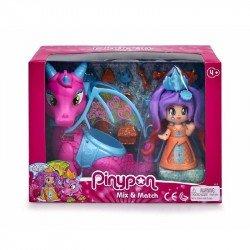 Muñeca Pinypon Reina del Dragon