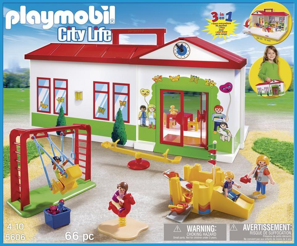 Playmobil 5605 Colegio Maletín