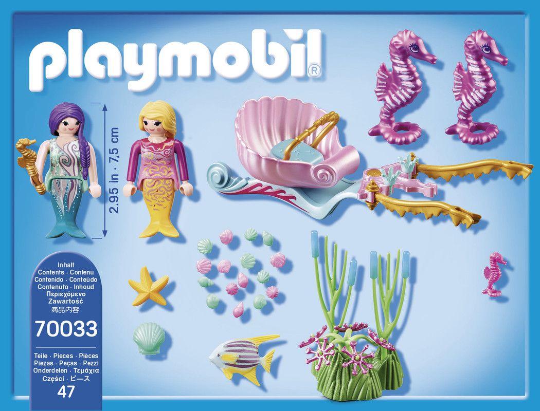 Playmobil 70033 Starterpack Carruaje Caballitos De Mar.