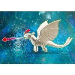 Furia Luminosa y cria de dragon
