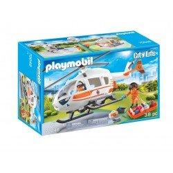 Playmobil 70048 Helicóptero De Rescate