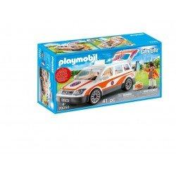 Playmobil 70050 Coche De Emergencias Con Sirena