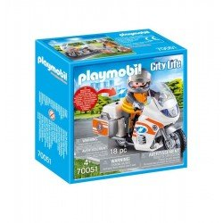 Playmobil 70051 Moto De Emergencias