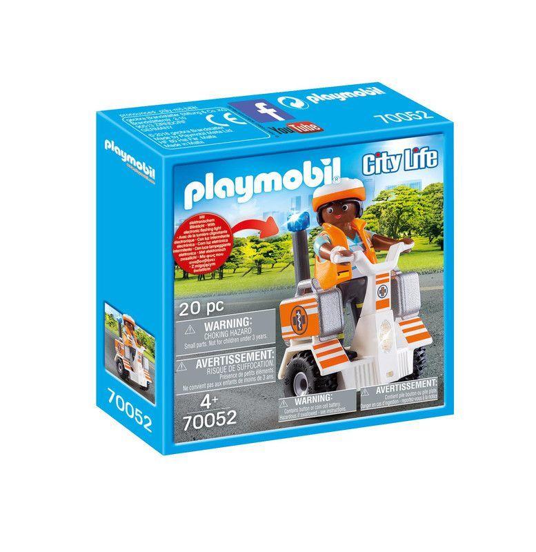 Playmobil 70052 Scooter De Rescate