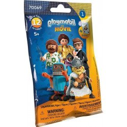 FIGURAS PLAYMOBIL THE MOVIE SERIE 1