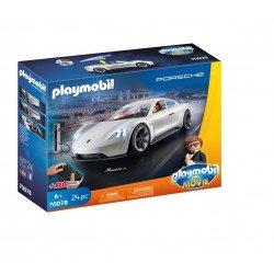Playmobil 70078 THE MOVIE Porsche Mission E y Rex Dasher