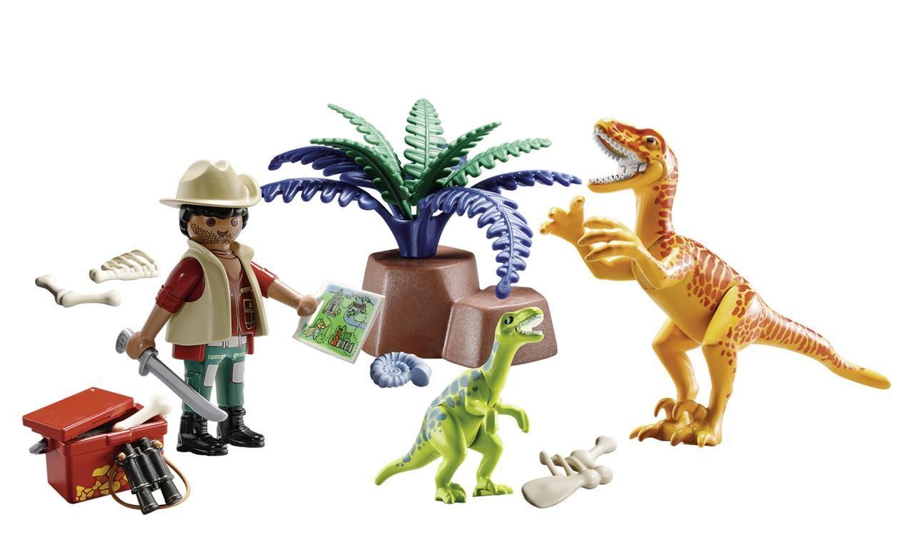 Maletín de Dinosaurios y Explorador