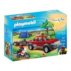 Playmobil 70116 Set de campamento