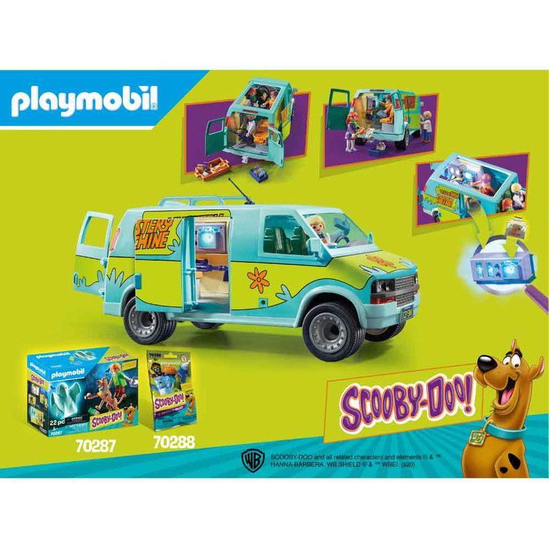 Playmobil 70286 Scooby Doo La Maquina Del Misterio