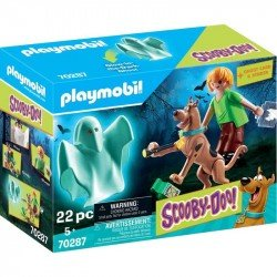 Playmobil 70287 Scooby Doo Scooby Y Shaggy Con Fantasma