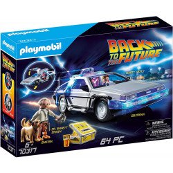 Playmobil 70317 Volveral Futuro DeLorean