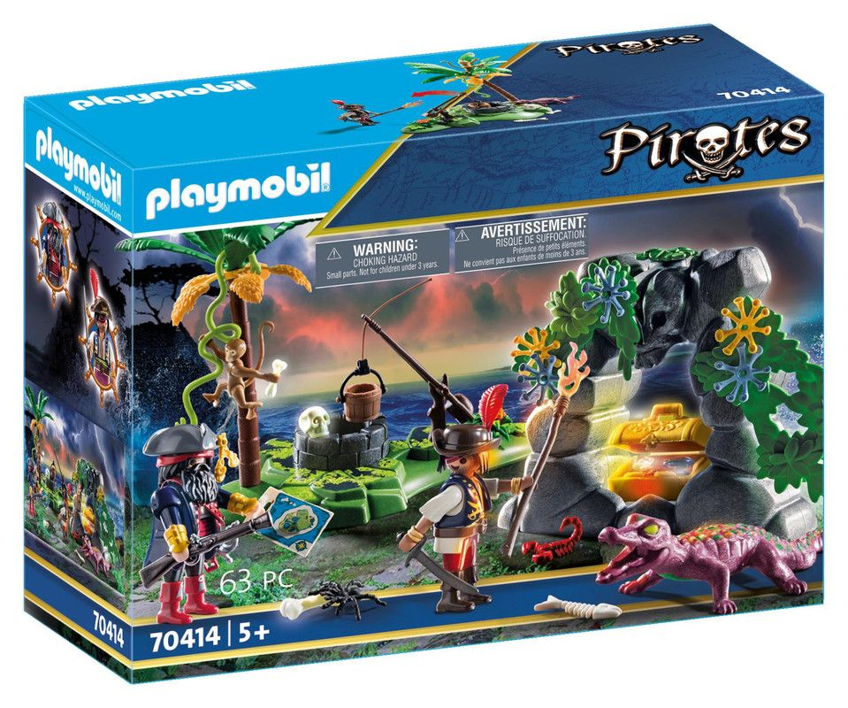 Playmobil 70414 Escondite Pirata