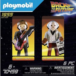 Playmobil Back to The Future 70459 Set Marty & Doc.Brown