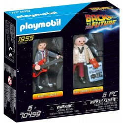 Playmobil 70459 2 Figure Set Marty & Doc.Brown