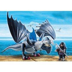 Drago y Dragón con Armadura