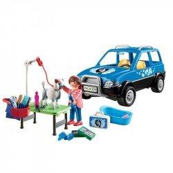 Playmobil 9278 Coche Estetica De Perros