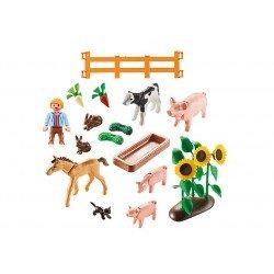 Playmobil 9316 Animales de Granja