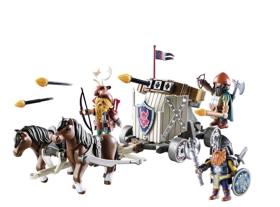 Carruaje de caballos con Ballesta