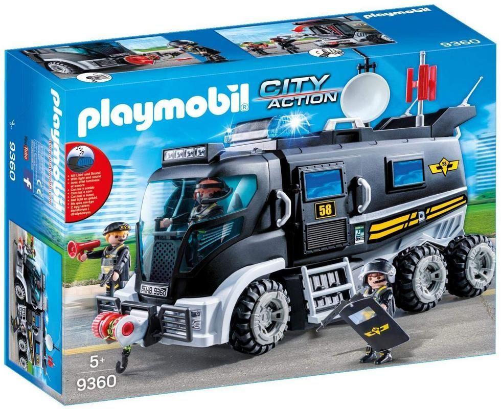 Playmobil 9360 Vehículo Delux fuerzas especiales SWAT