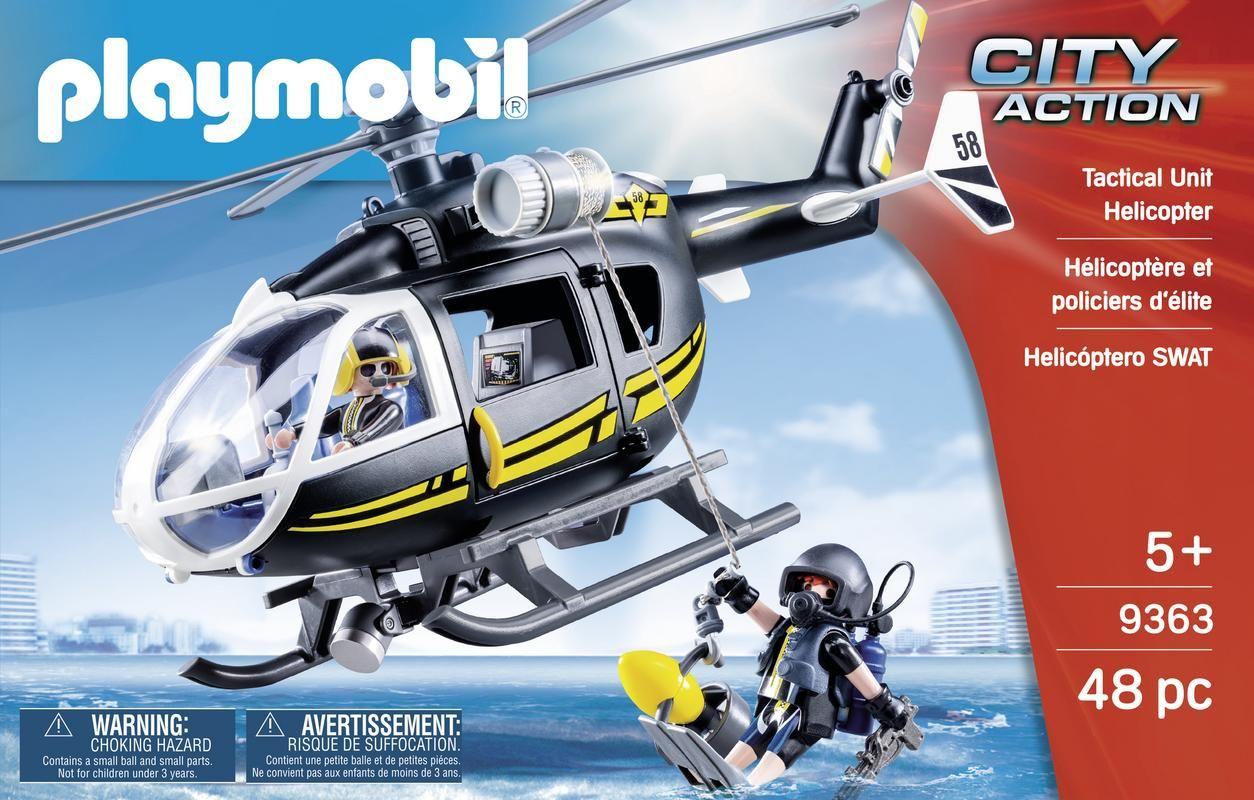 Helicóptero fuerzas especiales SWAT