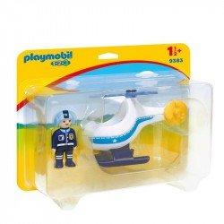 Playmobil 123: Helicóptero de Policía
