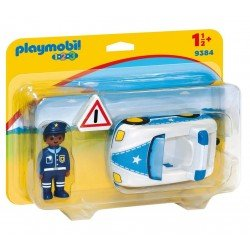 Playmobil 123: Coche Policía