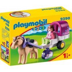 Playmobil 9390 Playmobil 123: Carruaje de caballos