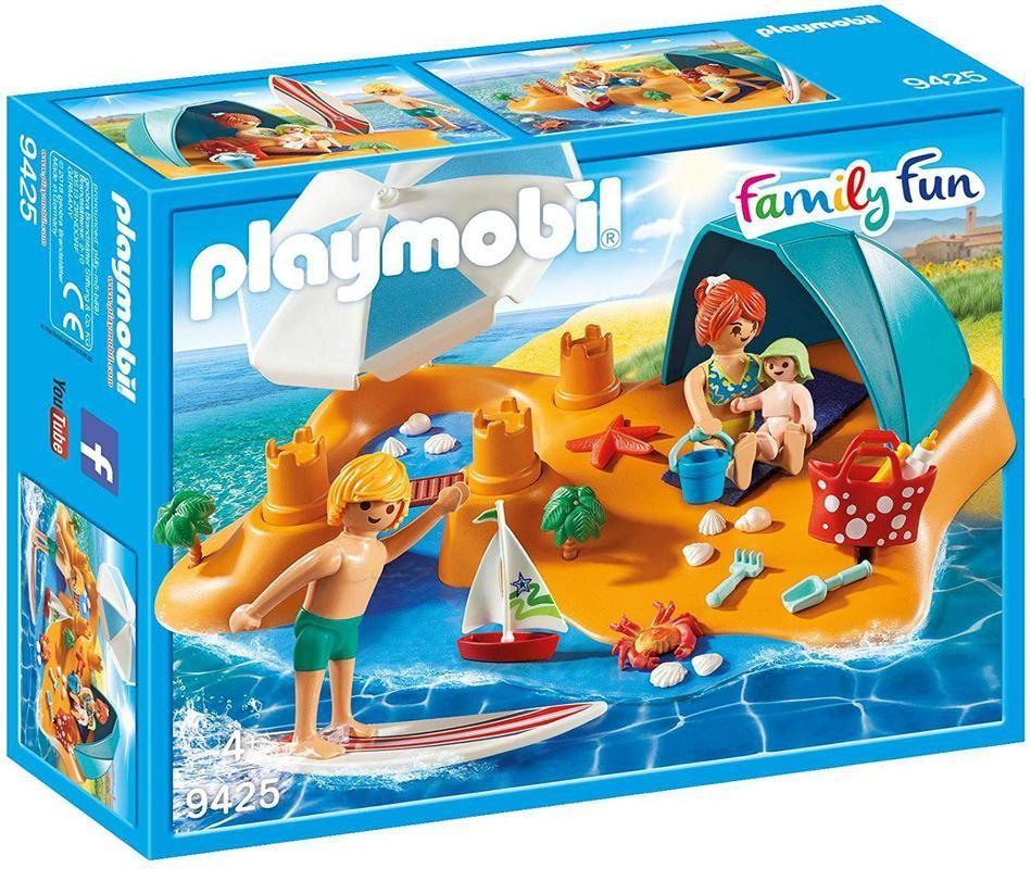 Playmobil 9425 Familia en la Playa