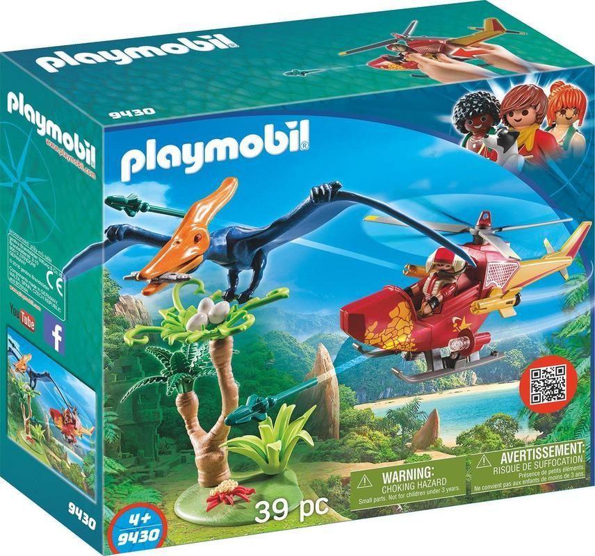 Helicóptero con Plesiosauro