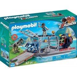 Playmobil 9433 Hidrodeslizador con Jaula